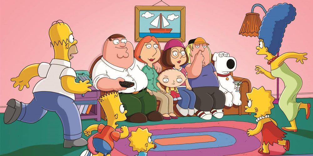 Los-Simpsons-Padre-de-Familia-crossover