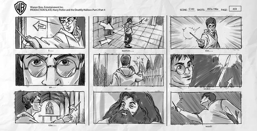 story-board-harry-potter
